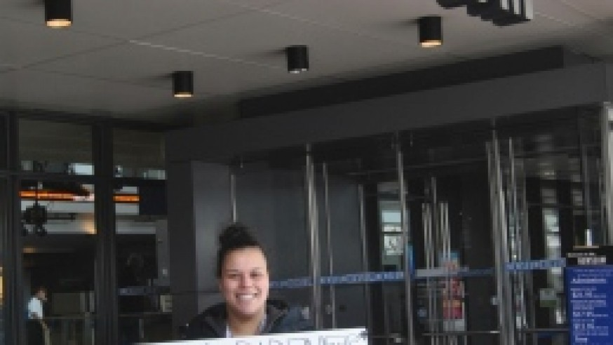 Newseum adds student's sign to its collection
