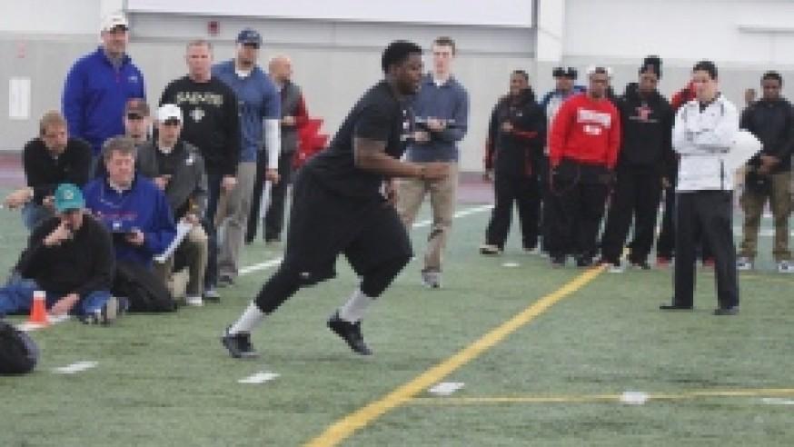 NFL hopefuls showcase their talents at YSU Pro Day