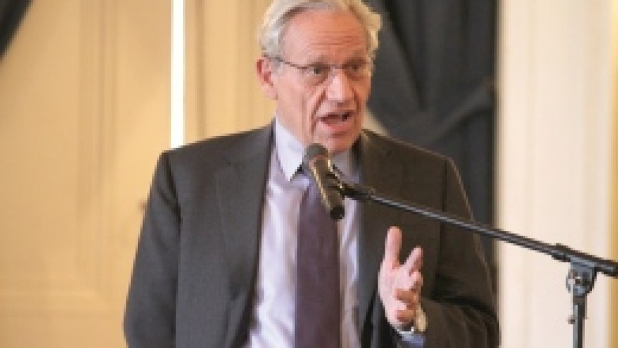 Bob Woodward speaks on 'Presidential Leadership and the Price of Politics'
