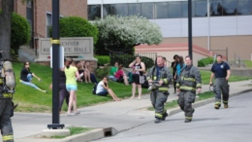 Buechner Hall evacuated after reports of smoke