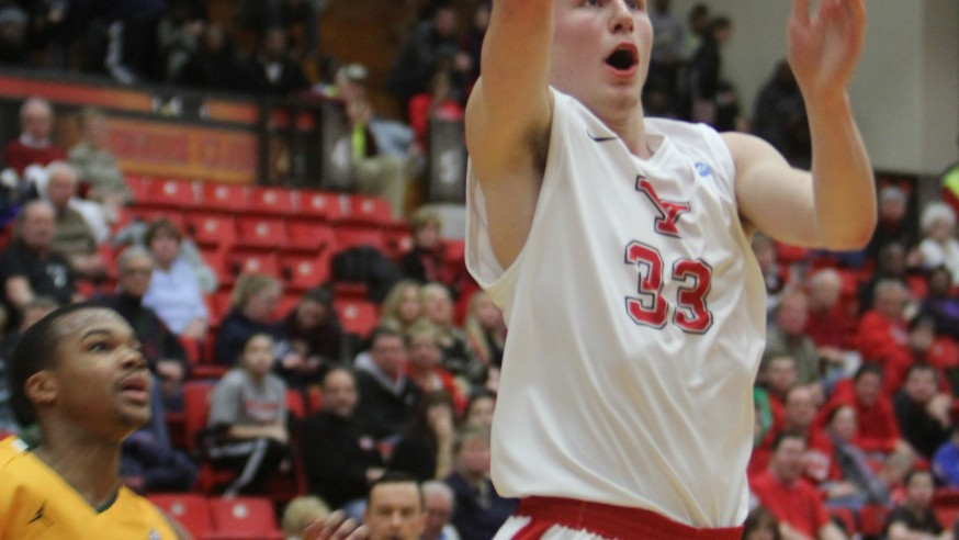 Big finish: Missed layup saves YSU victory