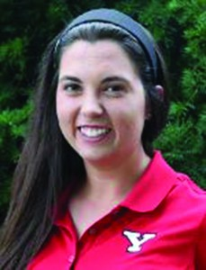 Allison Mitzel. Photo courtesy of YSU Sports Information.