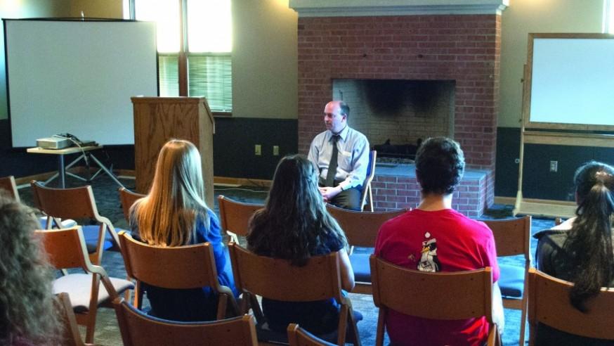 Youngstown Mayor Visits YSU
