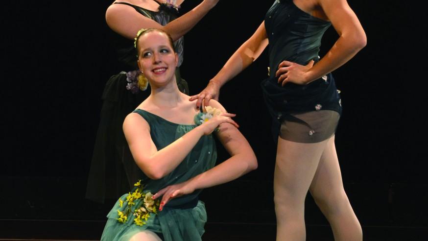 Dance Ensemble: Inspiration and interpretation