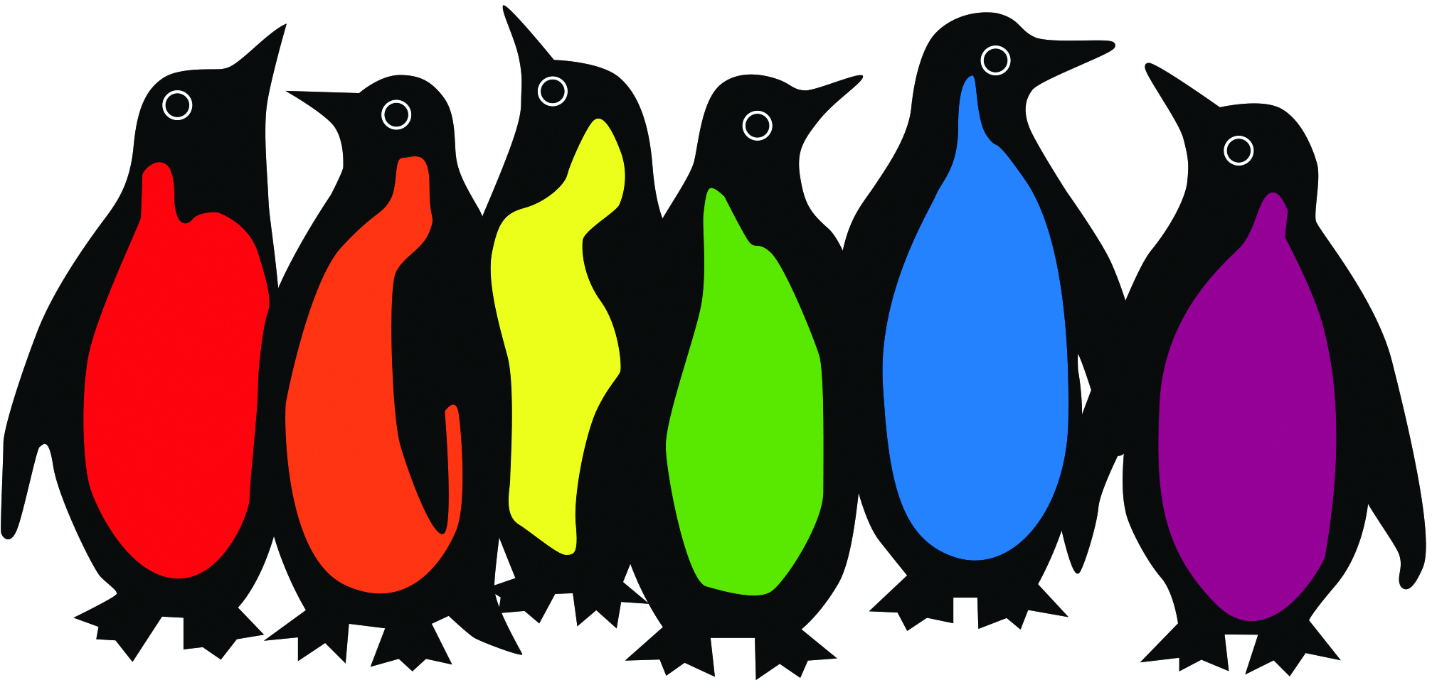 Penguins only from logo