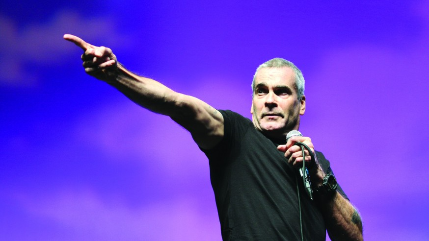 'I Put the Punk in Punctual' An evening with Henry Rollins