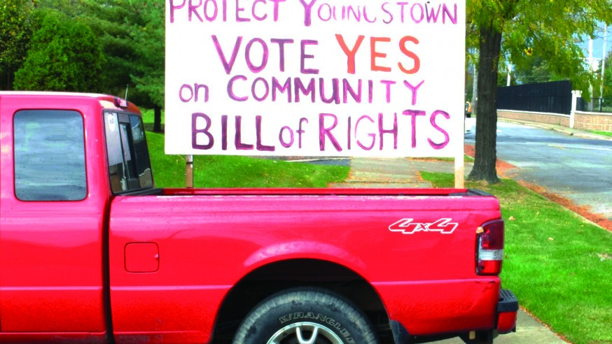 Youngstown Citizens Want the Oil and Gas Industry to Frack Off