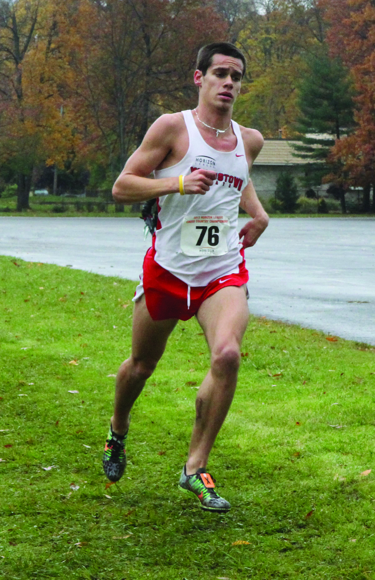 Austin McLean finished 12th at the Disney Cross Country Classic last year, helping the YSU men finish second in the event.