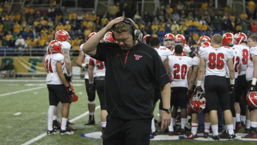 Eric Wolford Out As YSU Football Coach