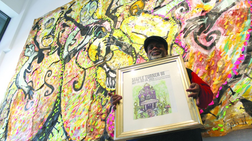 Nails in the Burlap: Fine Art in Downtown Galleries