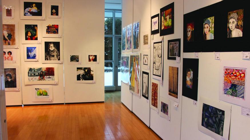 YSU Showcases Local Schools' Artwork
