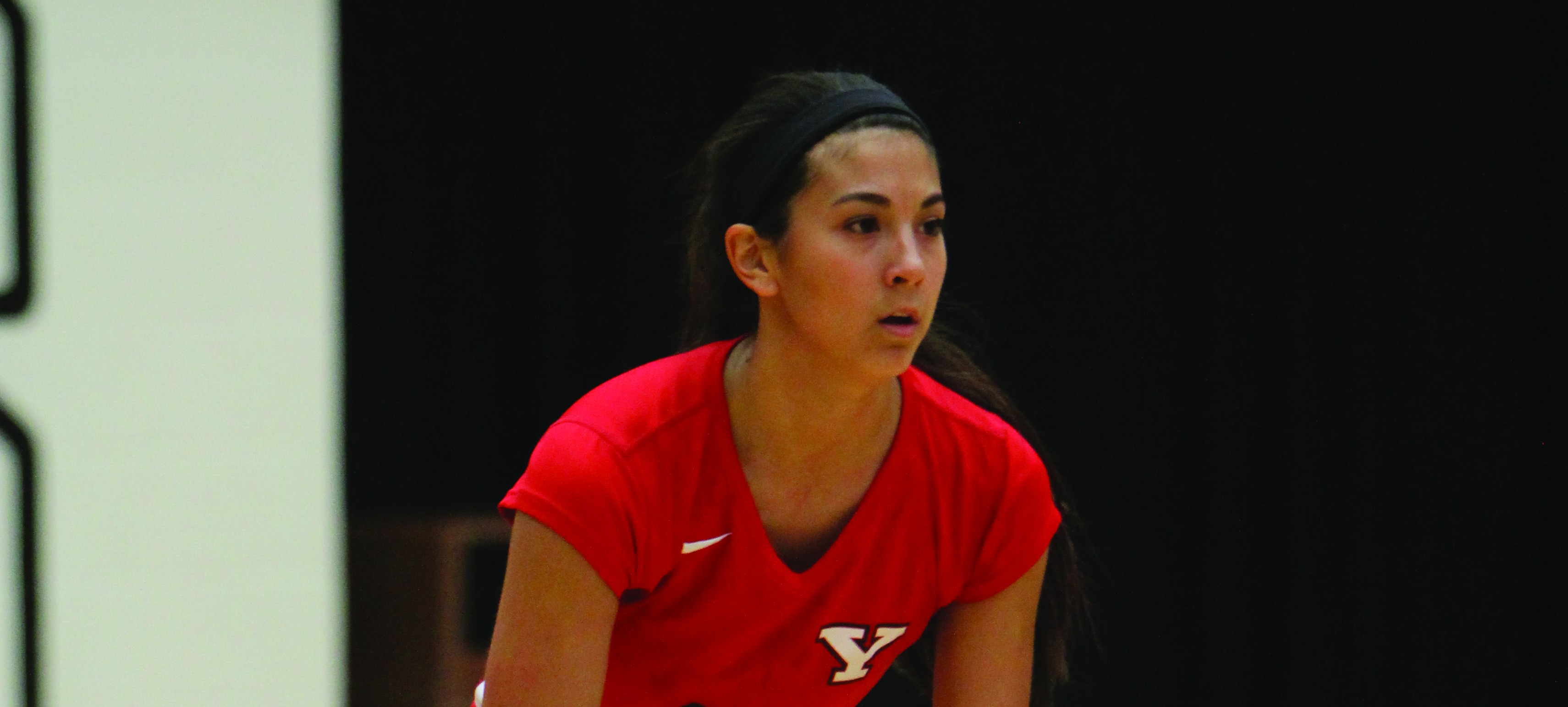 Sophomore setter Val Jeffery tried out for the United States' Volleyball team from Feb. 20-22. Jeffery recorded 1099 assists last season, the most assists by a Penguin since the 2007 season. Photo by Dustin Livesay/ The Jambar.