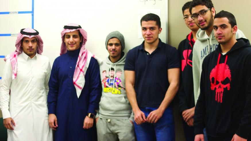International EMT Students 'Aim for Success' in Saudi Aramco