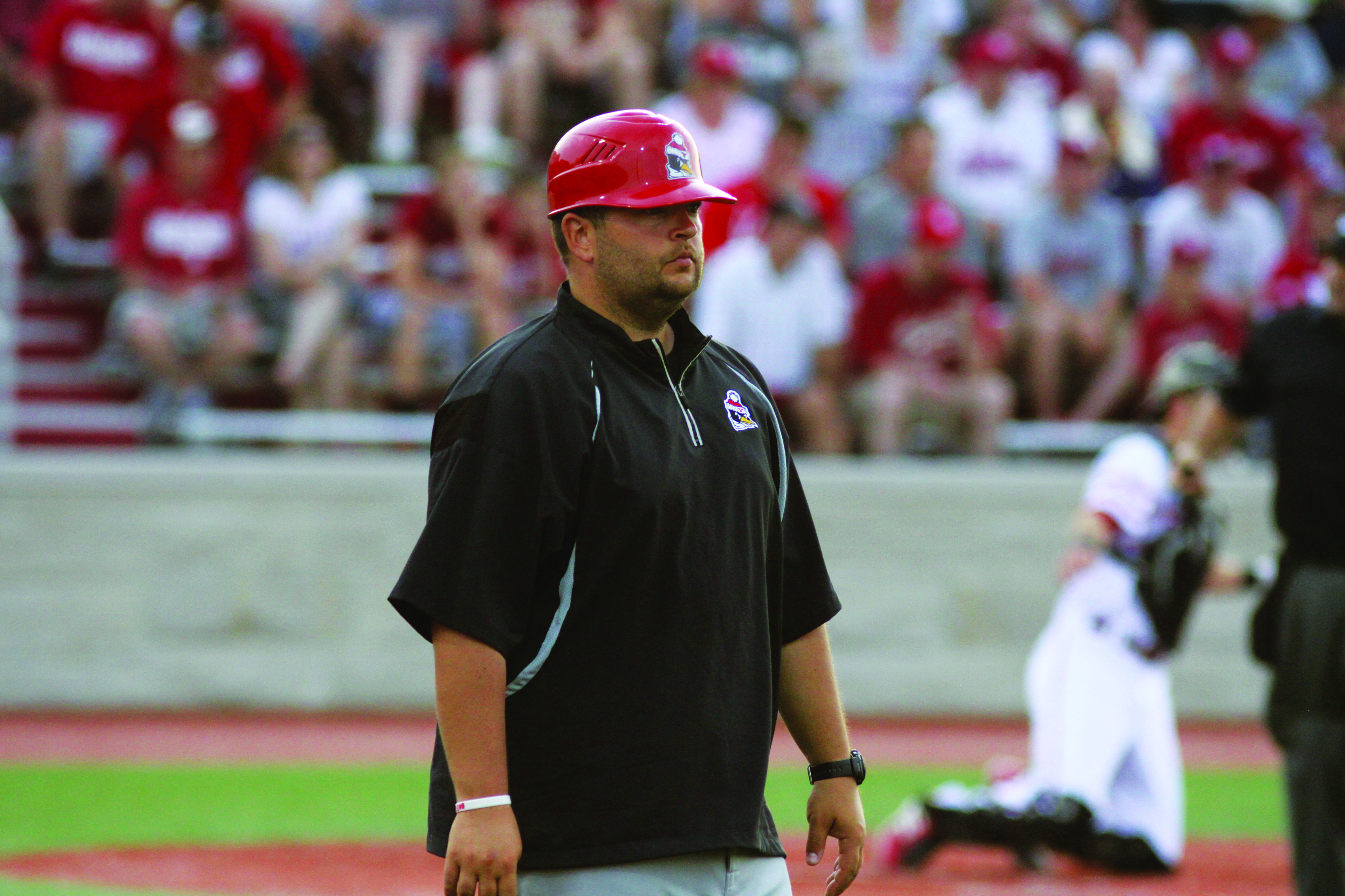 Jason Neal, assistant coach and recruiting coordinator, oversaw the recruitment of 16 of the players on the 2014 Horizon League Champion roster. The YSU baseball team recently received seven commitments for the 2016 season. Photo courtesy of YSU Sports Information.