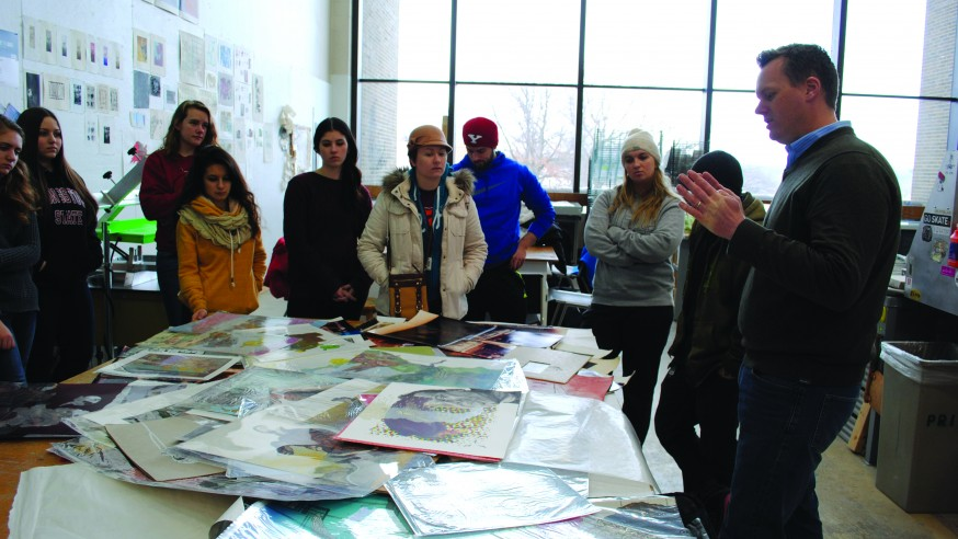 Fine Art and Printmaking: Noted Printmaker to Visit YSU