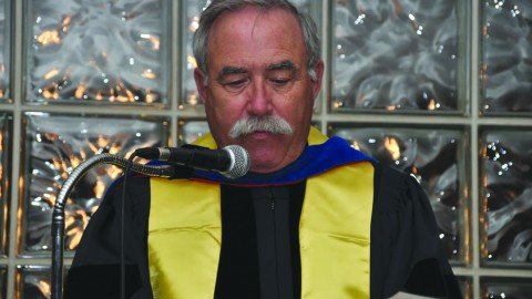 Ron Shaklee. Photo courtesy of Phi Kappa Phi.