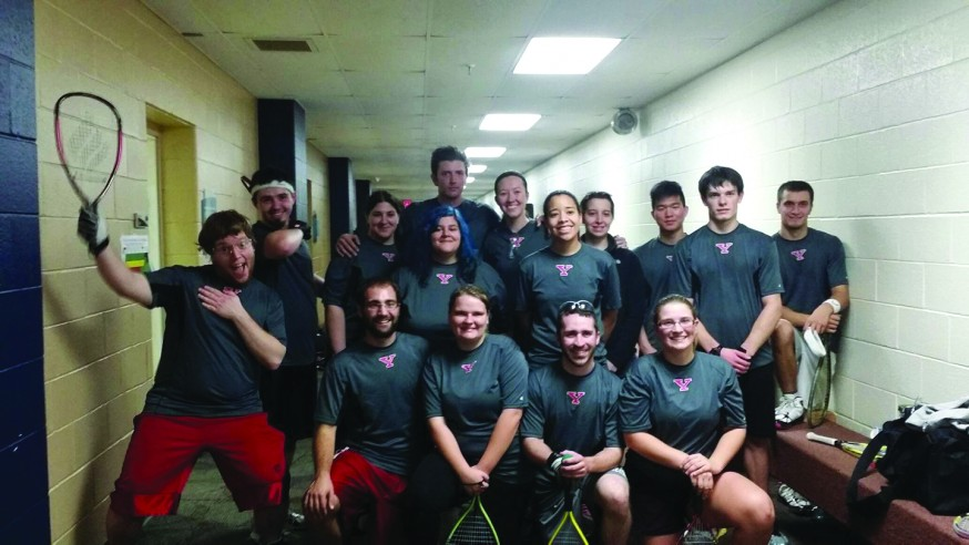 Club Racquetball Takes Serve at YSU