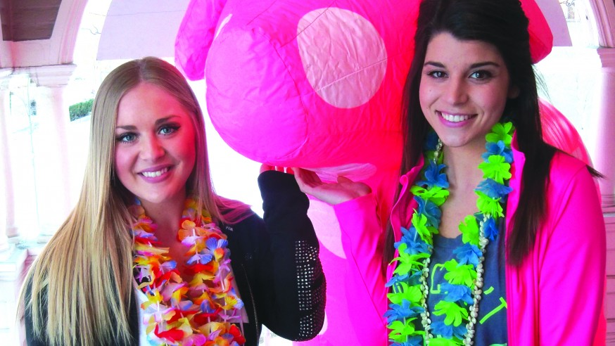 Students Tickled PINK with the Idea of Spring