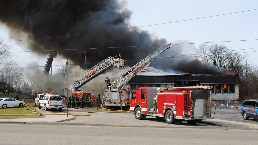 The Youngstown Asphalt Solutions Fire in Photos