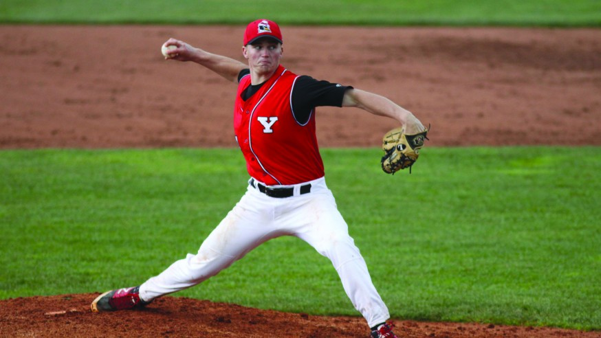 Baseball Pitching Anchored by Sophomore Trio