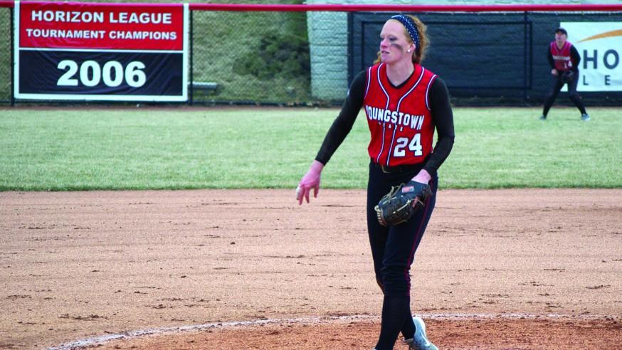 Softball Sweeps Doubleheader Against Detroit