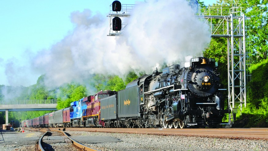 Historic Steam Train Scheduled for Summer Stop in Youngstown