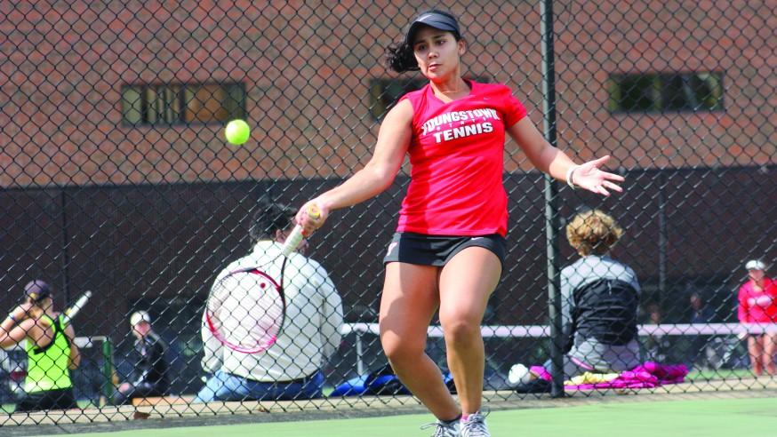 YSU Tennis Wins First Regular Season Title