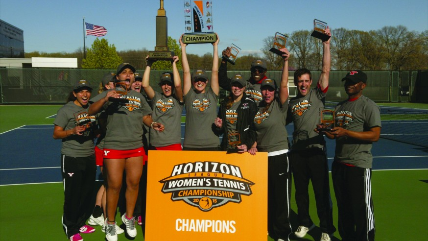 YSU Tennis Wins Back-To-Back Horizon League Championships