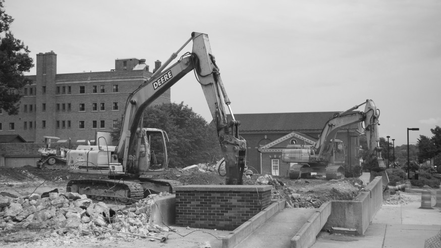 Campus Commences with Construction Projects