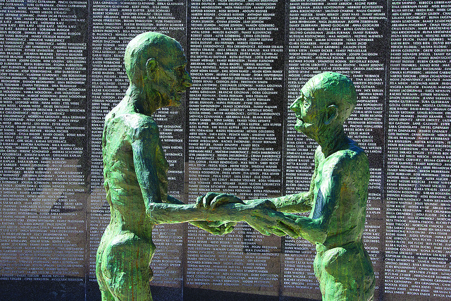 """""""Holocaust Memorial, Miami Beach"""" by Chris Beckett is licensed under CC BY-NC-ND 4.0"""