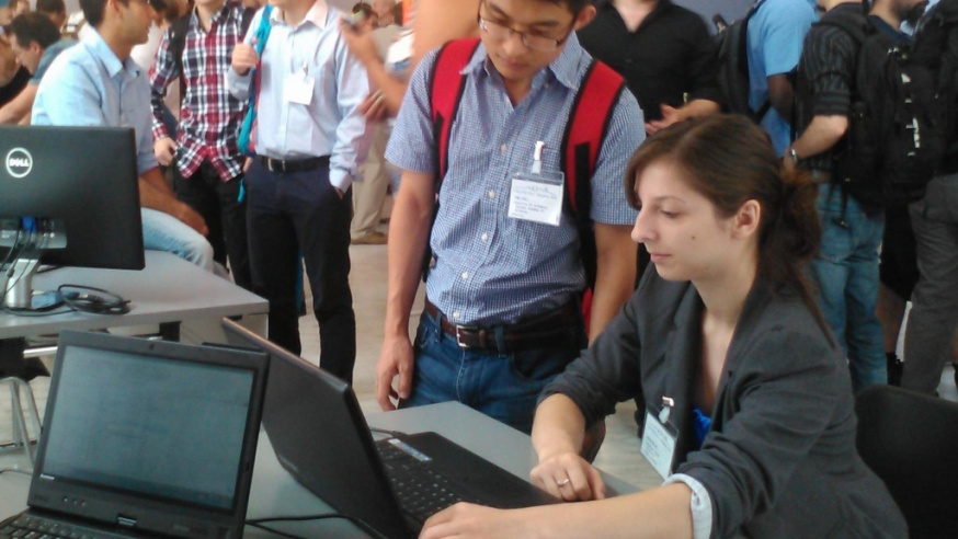 YSU Designed Eye Tracking Software Demonstrated in Italy
