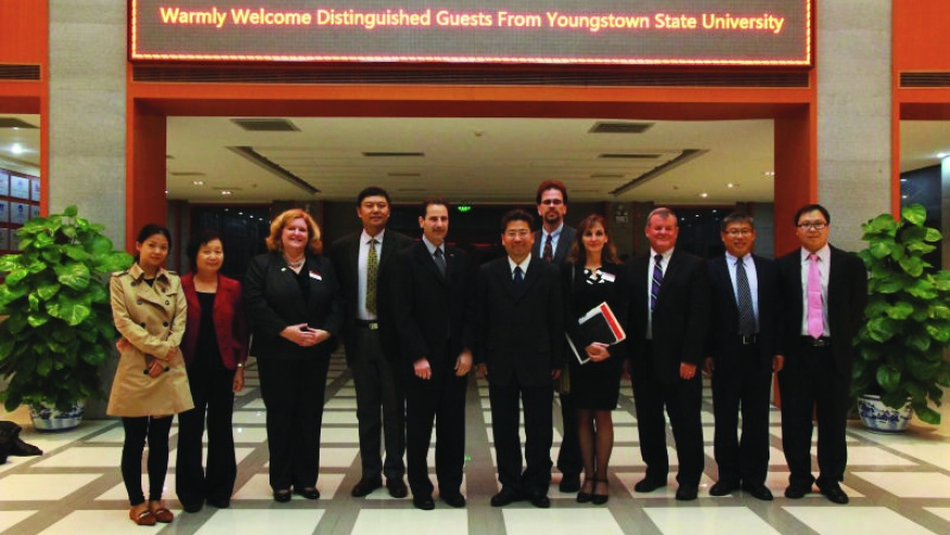 Made in China: YSU Makes Agreements with Chinese Education Institutions