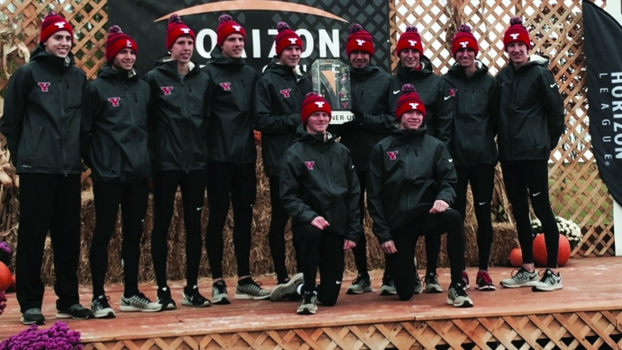 Men's Cross-Country Finishes Second at the Horizon League Championships