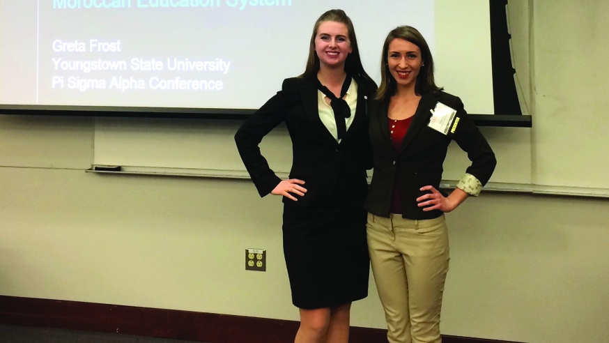 Poli Sci Students Present Research at National Conference