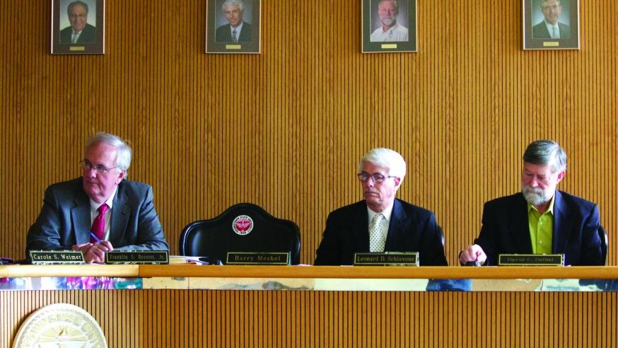 Meshel is Missing: The Senator Skips his Final Board Meeting