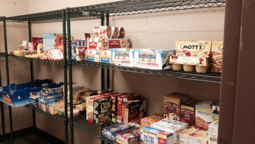 SGA Opens Food Pantry to Assist Students