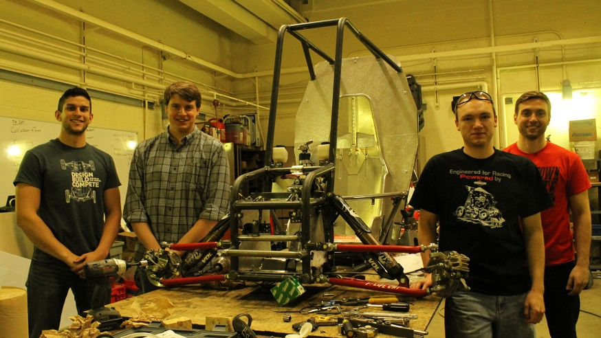 Baja Team Gears Up for Competition