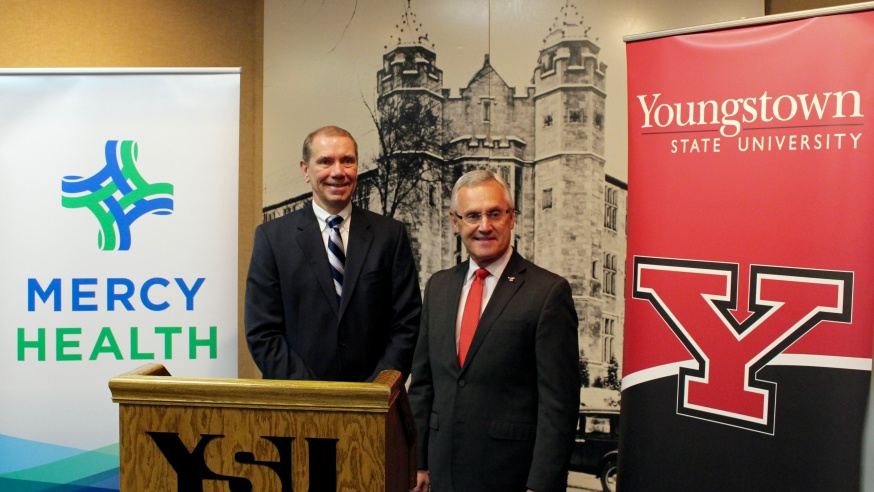 YSU and Mercy Health Solidify Partnership with 10-Year Agreement