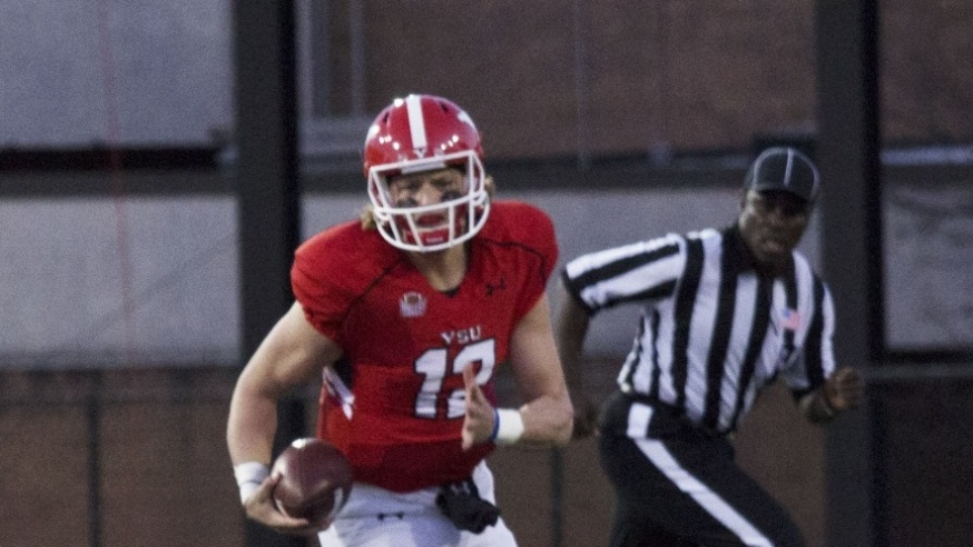 Quarterbacks Showcase Talent at Red and White Game