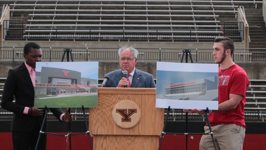 New Sports Media Center Funded By Alum Donation