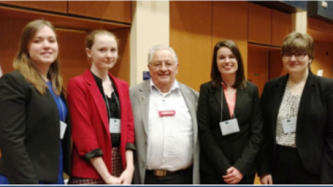 Two YSU Students Win Prestigious Award