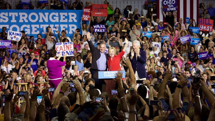 Clinton Comes to Town: Hillary Hits Youngstown on Post-Convention Bus Tour