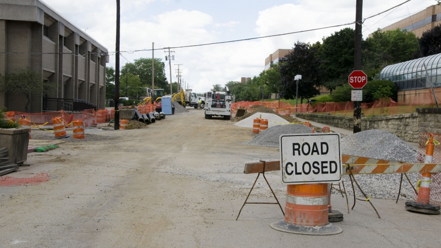Major Makeovers for Two of YSU's Busiest Roads