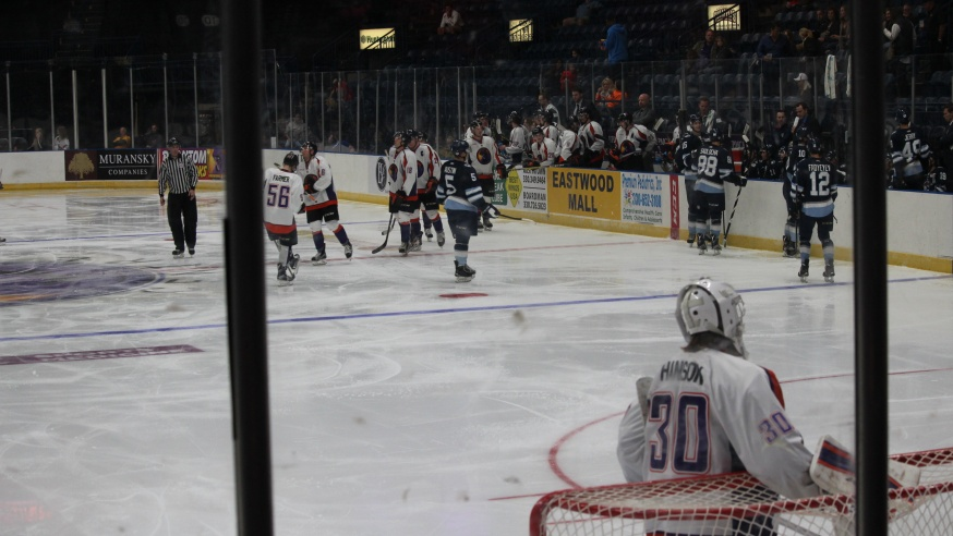 Candidates Face Off at Election Themed Phantoms Game