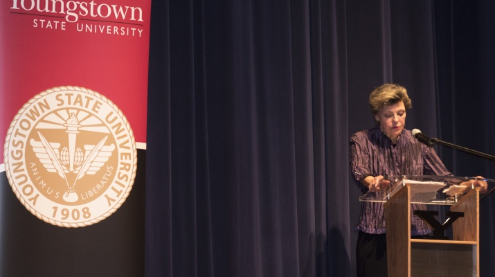 Cokie Roberts Speaks at Stambaugh Auditorium