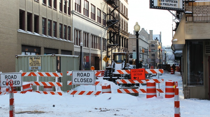Phelps Street Closed for Improvements