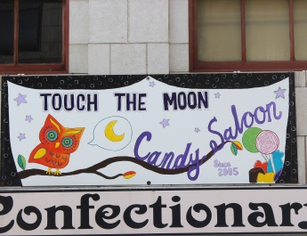 Touch the Moon with a Candy Saloon