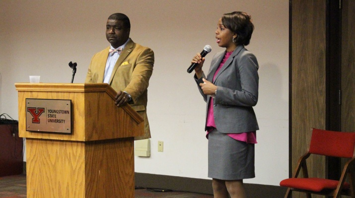 Newly Elected Mayor and Judge Hold Town Hall at YSU