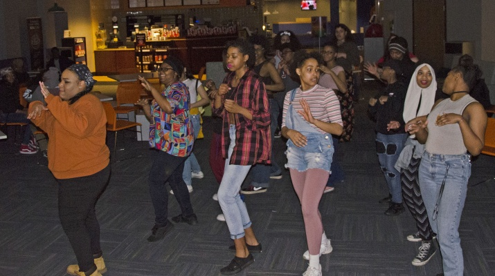 Black Student Union 90s Party Bringing Diversity Together