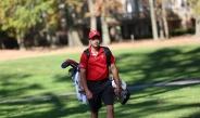 Men's Golf Team Just Getting Ready